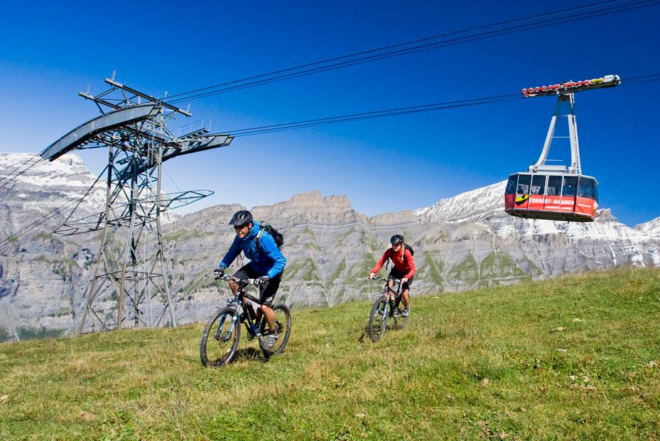 Mountainbiking auf der Torrent