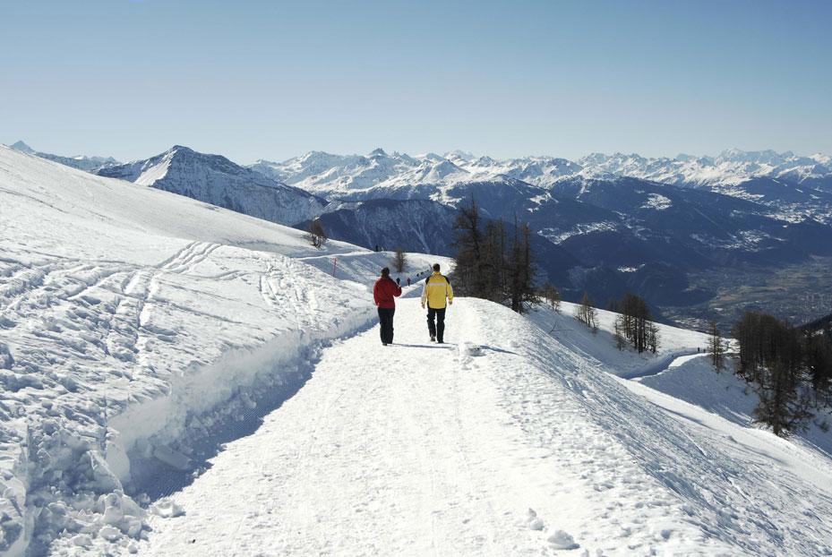Winterwandern auf der Torrent